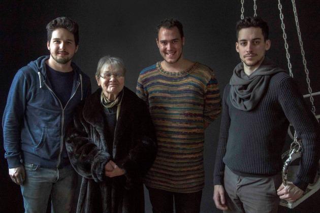 Damokos Attila, Törőcsik Mari, Szórád Máté és Nagy Marcell