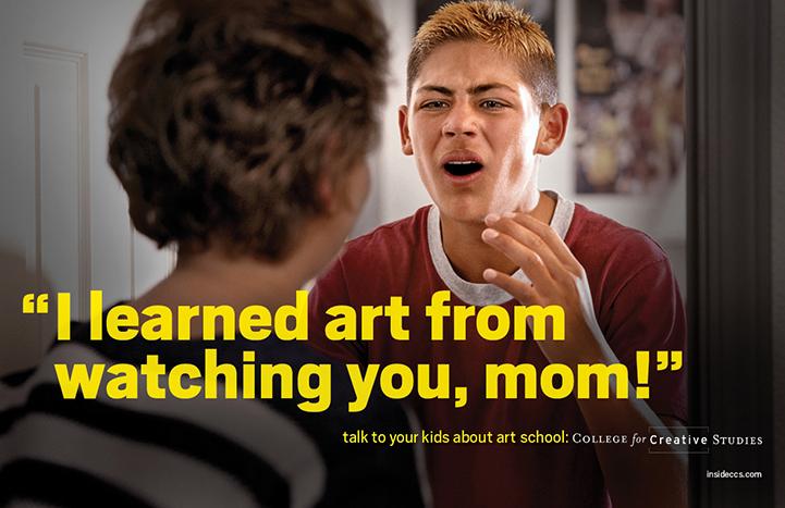 Tőled láttam ezt, Anya!