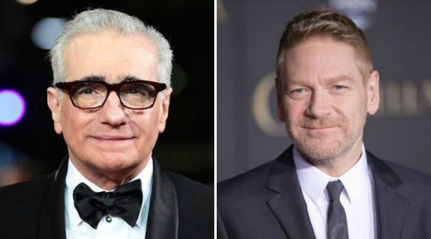 Martin Scorsese és Kenneth Branagh (Fotó: filmloverss.com)