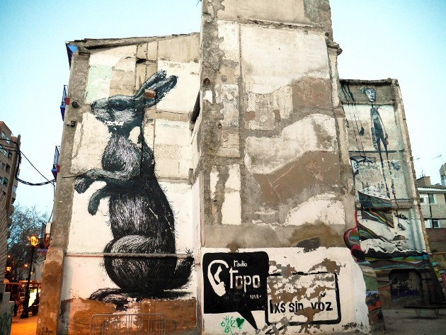 ROA: Nyúl graffiti (Forrás: angloitalianfollowus.com)