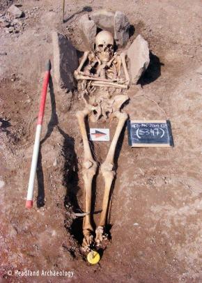 Fotó: Headland Archaeology / Livescience
