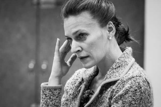 Szamosi Zsófia, az aggódó anyuka (Fotó: Dömölky Dániel)
