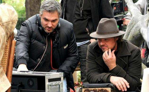 A berni követ forgatásán – Szász Attila és Nagy András operatőr (Fotó: Gáspár Miklós)