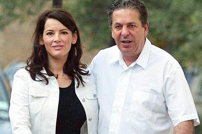 Nigella, és egykori férje, Charles Saatchi
