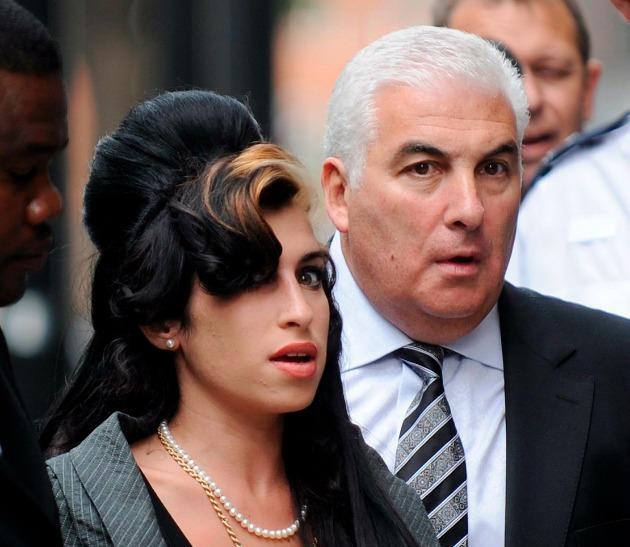 Amy Winehouse és édesapja, Mitch Winehouse (Fotó: MTI/EPA)