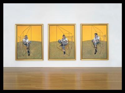 Three Studies of Lucian Freud (fotó: publicdescription.com)