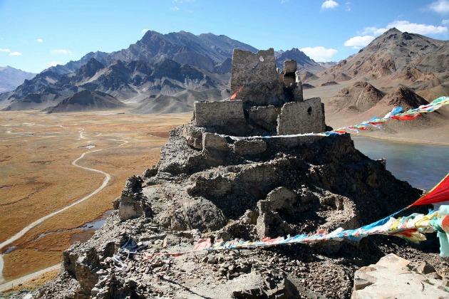Rutog Ngari erőd Tibetben (Fotó: flickr.com)
