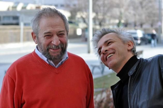 Jordán Tamás és Alföldi Róbert (Fotó: Stekovics Gáspár)