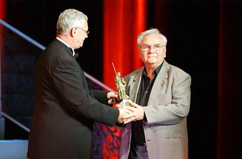 A Dömötör-díj átadásakor, 2008