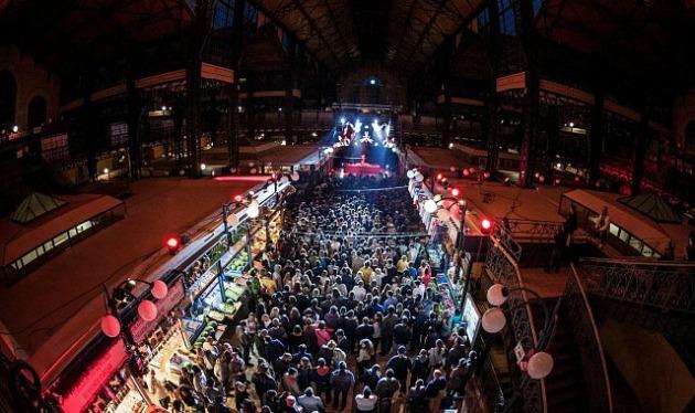 A Vásárcsarnok a tavalyi Budapest Essentials-ön is koncertcsarnokká alakult (Fotó: budapestessentials.com)