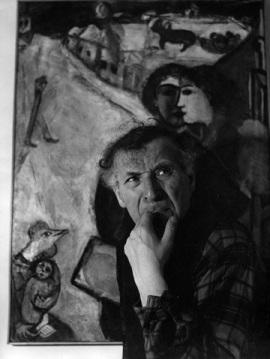 Ervin Marton: Marc Chagall, 1945 körül