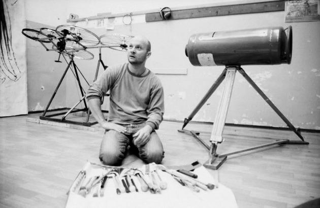 Rimóczi István, a Bélaműhely művészeti vezetője (Fotó: cellulozfanatik.blogspot.com)