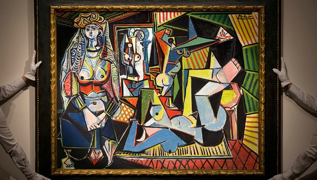 Pablo Picasso: Az algíri nők - O változat (Fotó: christies.com)