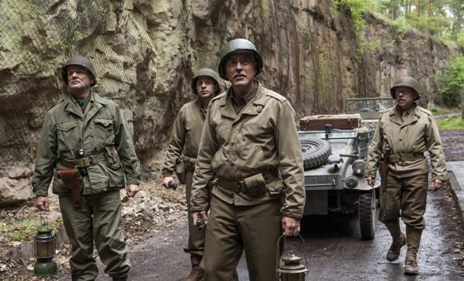 Részlet a The Monuments Men című filmből (fotó: popsugar.com)