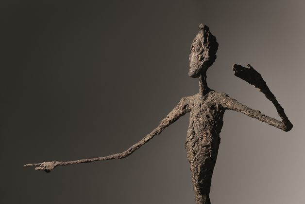 Giacometti: A mutató ember (Forrás: Christie's / © 2015 Alberto Giacometti Estate)