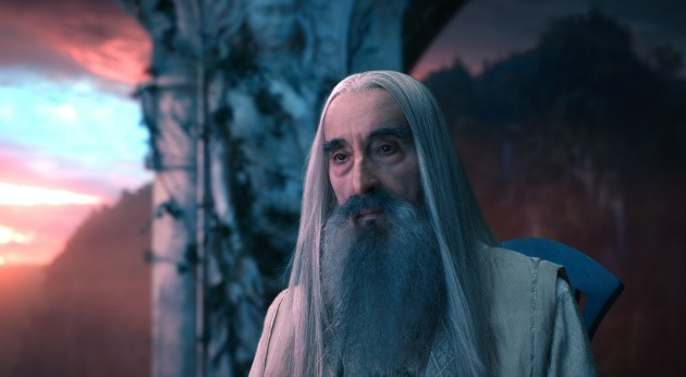 Christopher lee a Hobbitban