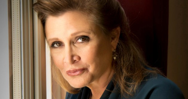 Carrie Fisher (forrás: movieweb.com)