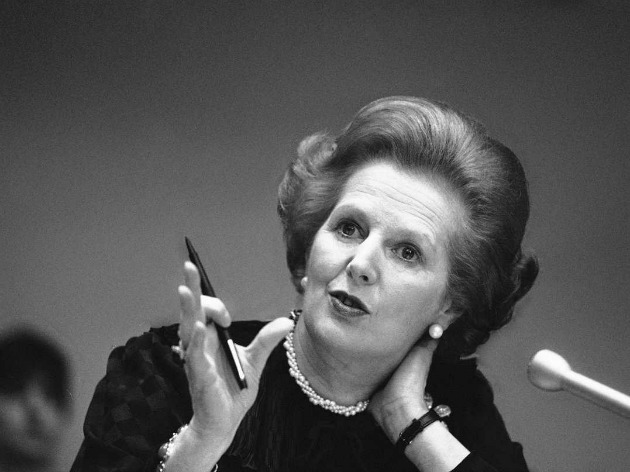 Margaret Thatcher (Fotó: thecommentator.com)