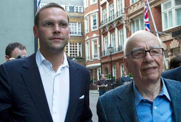 Rupert és James Murdoch