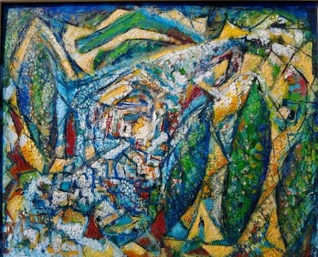 Litkey Zsolt festménye