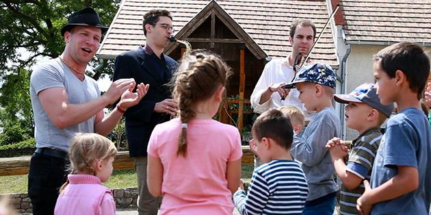 Berecz István, Bede Péter és a főszervező Rosonczy-Kovács Mihály