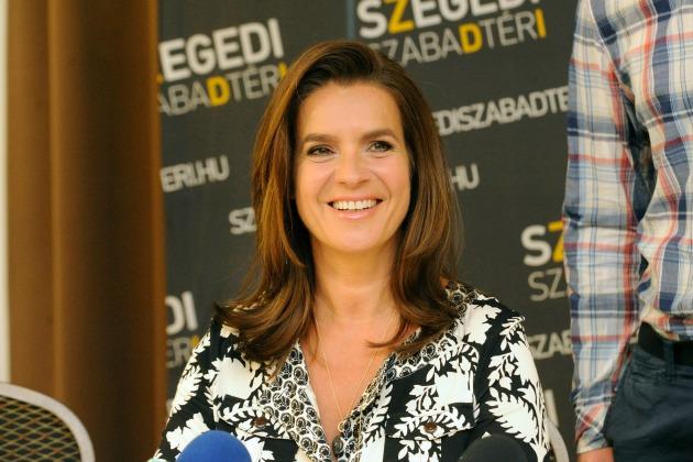 Katarina Witt (MTI Fotó: Kelemen Zoltán Gergely)