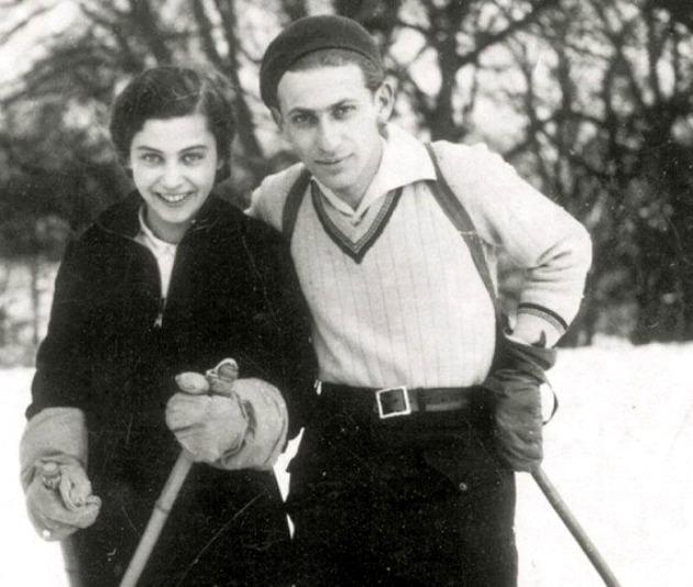 Gyarmati Fanni és Radnóti Miklós