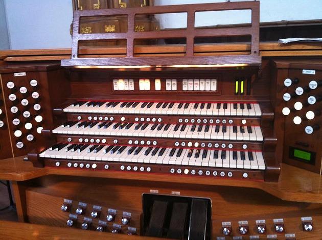 Varnus Xaver orgonája a köveskáli templomban (Fotó: Kultúrpart)