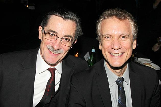 Roger Rees és Rick Elice (Fotó: broadway.com)