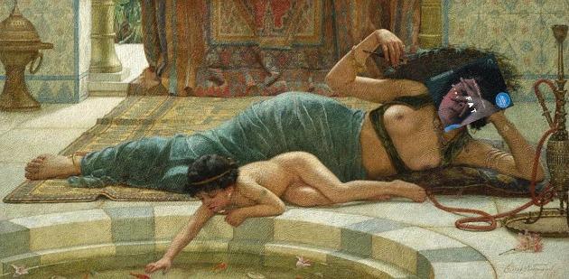 Catherine Breillat Nővéremnek című filmje és Ernest Normand Playthings festménye (Forrás: Eisen Bernard Bernardo)