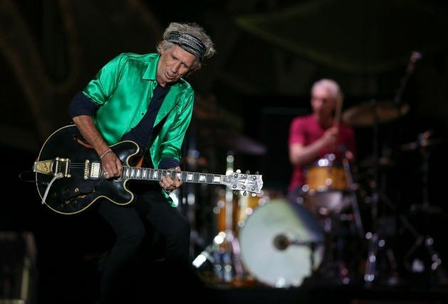 Keith Richards (Fotó: MTI/AP/Star Tribune/Jeff Wheeler)