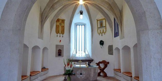 A diósgyőri vár kápolnája (Fotó: kereszteny.mandiner.hu)