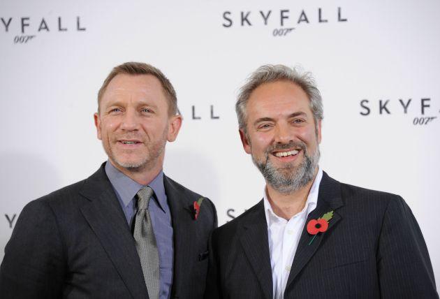 Daniel Craig és Sam Mendes (Fotó: mstarz.com)