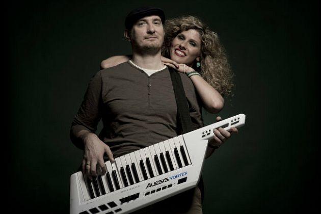 Fábián Juli és Zoohacker (Fotó: zeneihirek.hu)