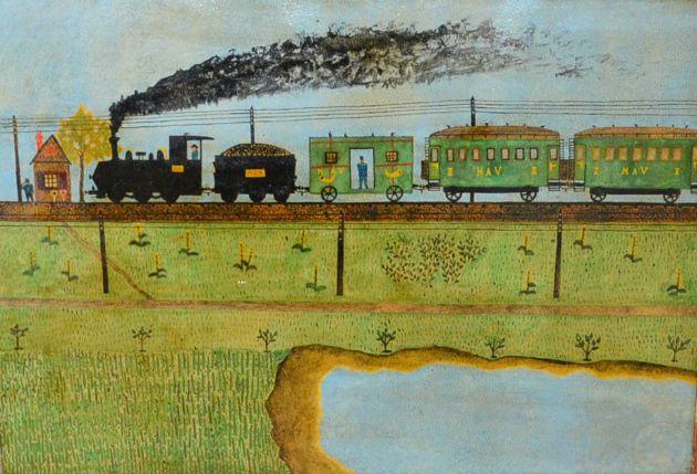 Süli András: Az algyői állami őrház, 1933