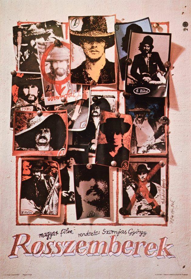 Szomjas György: Rosszemberek (eredeti filmplakát 1978-ból)