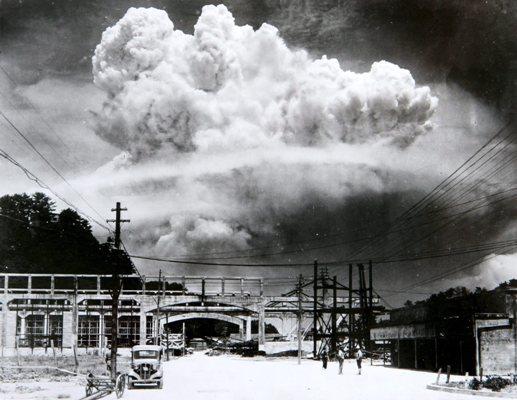 Gyilkos felhő Nagasaki felett (fotó: Wikipedia)