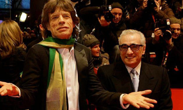 Mick Jagger és Martin Scorsese újra együtt (A kép forrása: theguardian.com / mafab.hu)