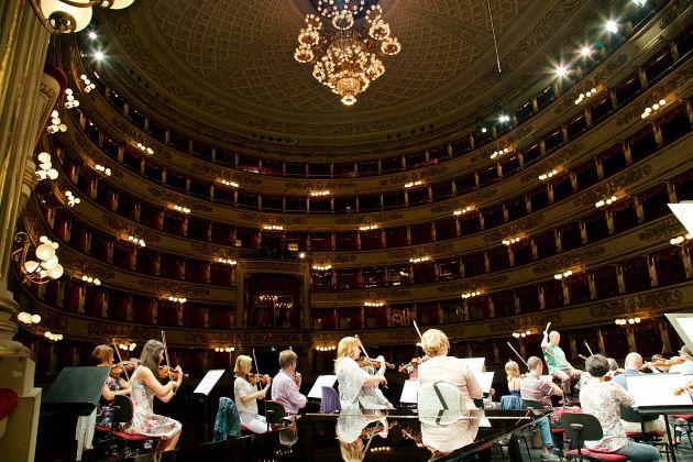 A milánói Scalaban (Fotó: BFZ Facebook oldal)