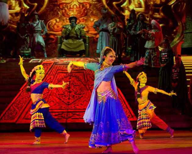 Hohhot Ethnic Performing Arts Group: Marco Polo kalandjai