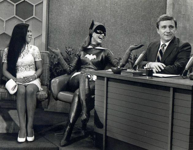 Yvonne Craig középen (Fotó: flickr.com)