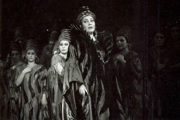 Nabucco - Sudlik Mária, 1987 (Fotó: fidelio.hu)