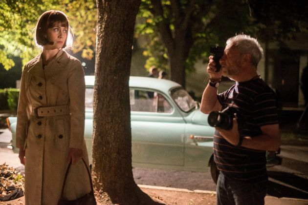 Balsai Mónika, a film egyik szereplője és Szabó Gábor operatőr (MTI Fotó: Kallos Bea)