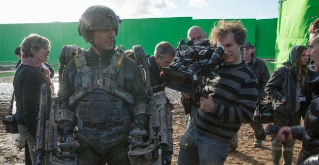 A képen: Tom Cruise és Doug Liman (fotó: mafab.hu)