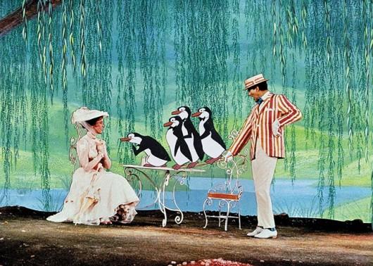Részlet a Mary Poppins! c. filmből