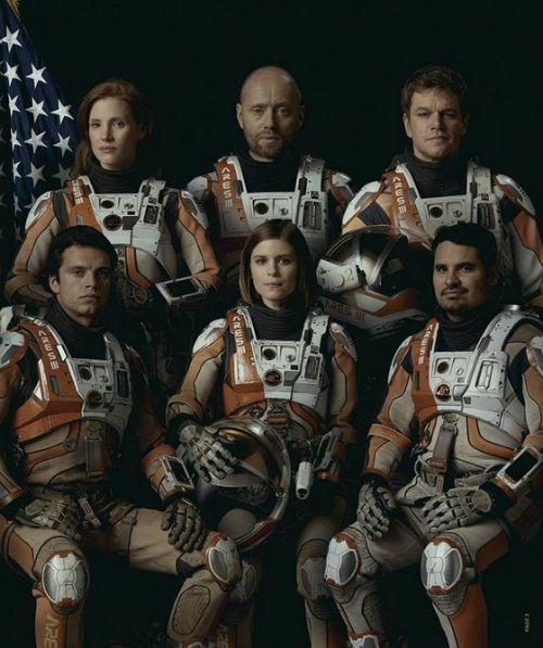 AZ Ares III legénysége a Mentőexpedíció című filmben (Fotó: FOX / HVG)