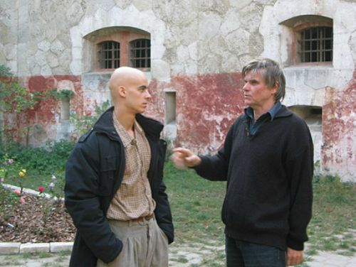 Balogh Zsolt: A veinhageni rózsabokrok - rendező és főszereplője (Fotó: filmtett.ro)