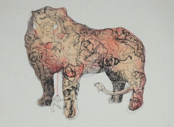 Női vonal IV. kiállításon látható alkotás