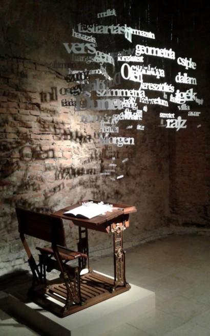 Szófelhő, forrás: Kiscelli Múzeum/Facebook