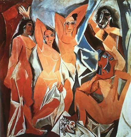 Avignoni kisasszonyok, forrás: rovart.com